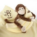 Monkey Magoo Plush Gift Set