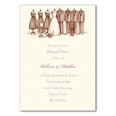 Wedding Party Invitations on Bridal Party Invitation   Lovemealways Com
