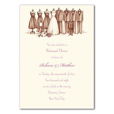 Wedding Party Invitations on Bridal Party Invitation   Lovemealways Com