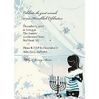Chanukkah  Holiday Party Invitations