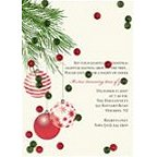 Holiday Martini Invitations