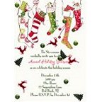 Holiday Stocking Invitations