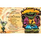 Monster Fiesta Invitation