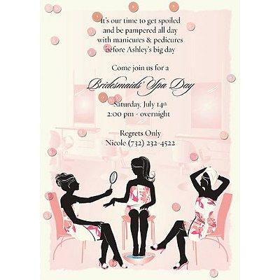 birthday party invitations September 2012 – Spa Party Invitation Template